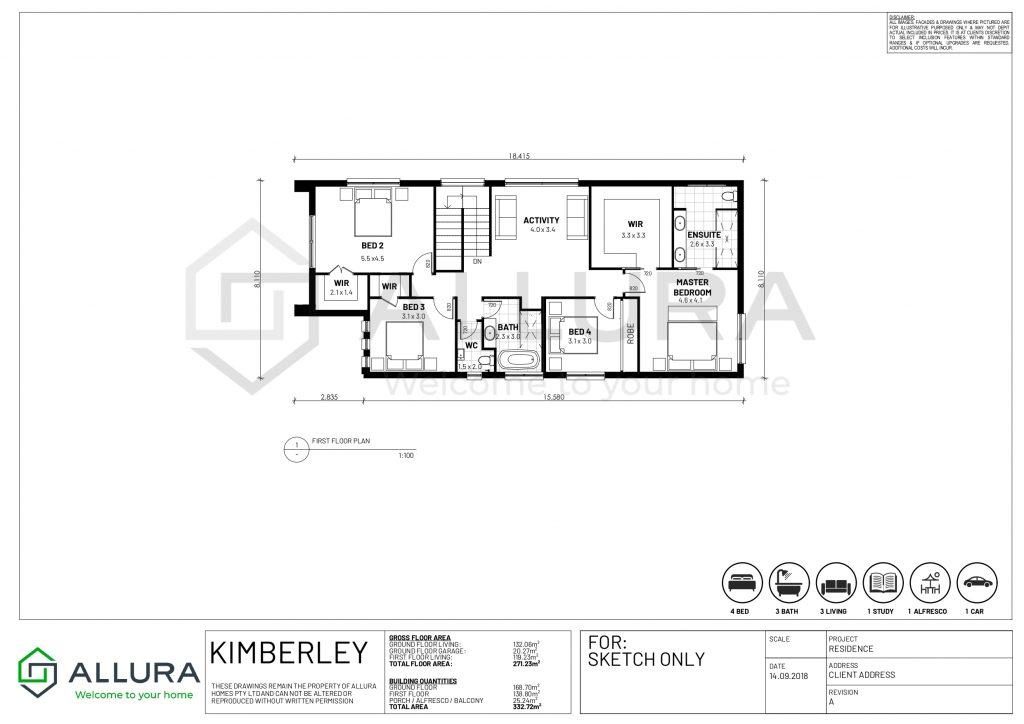 Kimberley floor plans